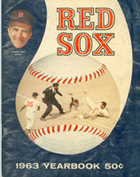 1963 Red Sox Yearbook Very Good Very heavy scuffing on cover; contents fine