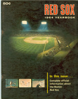 1964 Red Sox Yearbook (50 pg) Very Good to Excellent Wear and scuffing on covers, contents fine