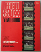 1965 Red Sox Yearbook Very Good to Excellent Lt creasing on cover; contents fine