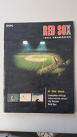 1964 Red Sox Yearbook (50 pg) Tony Conigliaro Rookie Year Very Good to Excellent Scuffing and creasing on cover, contents nice
