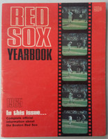 1965 Red Sox Yearbook (50 pg) Very Good to Excellent Scuffing and creasing on cover, contents nice