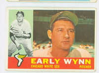 1960 Topps Baseball 1 Early Wynn Chicago White Sox Poor