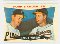 1960 Topps Baseball 115 Fork and Knuckler Very Good
