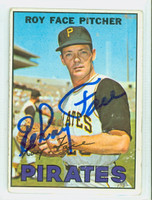 Roy Face AUTOGRAPH 1967 Topps #49 Pirates CARD IS CLEAN G/VG  [SKU:FaceR1218_T67BBm4]
