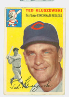 1954 Topps Baseball 7 Ted Kluszewski Cincinnati Reds Fair to Poor