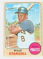 1968 Topps Baseball 86 Willie Stargell Pittsburgh Pirates Good to Very Good