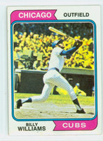 1974 Topps Baseball 110 Billy Williams Chicago Cubs Very Good to Excellent