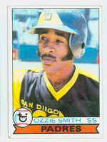 1979 Topps Baseball 116 Ozzie Smith San Diego Padres Good to Very Good