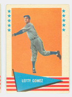 1961 Fleer Baseball Greats 34 Lefty Gomez Excellent