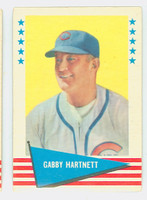 1961 Fleer Baseball Greats 41 Gabby Hartnett Very Good to Excellent