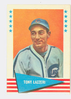 1961 Fleer Baseball Greats 54 Tony Lazzeri Fair to Good