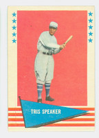 1961 Fleer Baseball Greats 79 Tris Speaker Very Good