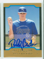 Billy Buckner AUTOGRAPH 2004 Bowman THICK STOCK VARIETY Royals 