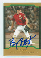 Bryan Bullington AUTOGRAPH 2004 Bowman THICK STOCK VARIETY Pirates 