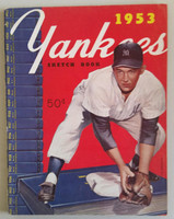 1953 Yankees Yearbook - World Series Champions (50 pgs) Excellent to Mint Very light wear on cover, sl toning on pgs, ow very clean