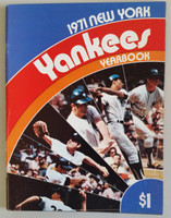 1971 Yankees Yearbook Near-Mint to Mint Very clean example