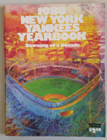 1980 Yankees Yearbook Near-Mint Very clean example
