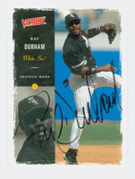 Ray Durham AUTOGRAPH 2000 Upper Deck Victory White Sox 