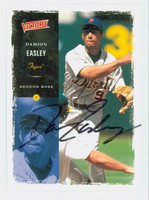 Damion Easley AUTOGRAPH 2000 Upper Deck Victory Tigers 