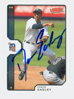 Damion Easley AUTOGRAPH 2002 Upper Deck Victory Tigers 