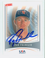Ryan Franklin AUTOGRAPH 2000 Upper Deck Victory USA 