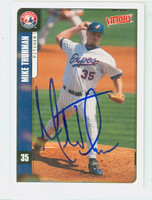 Mike Thurman AUTOGRAPH 2001 Upper Deck Victory Expos 