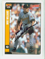 Mike Williams AUTOGRAPH 2001 Upper Deck Victory Pirates   [SKU:WillM13836_UPVICT01]