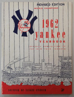 1962 Yankees Yearbook Revised - World Series Champions (50 pgs) Very Good to Excellent Lt wear, scuffing and creasing on covers, contents fine