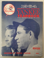 1964 Yankees Yearbook Revised - AL Pennant Winning Team (50 pgs) Excellent Lt wear on binding and both covers, ow very clean