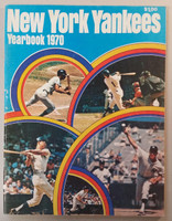 1970 Yankees Yearbook - Thurman Munson Rookie of the Year (78 pgs) Excellent Lt wear on binding and both covers, ow clean