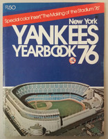 1976 Yankees Yearbook  - AL Pennant Winning Team (90 pgs) Near-Mint Lt wear, ow clean