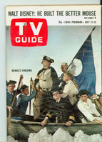 1965 TV Guide Jul 17 McHale's Navy Western Illinois edition Good to Very Good - No Mailing Label  [Heavy creasing on cover, contents fine]