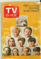 1970 TV Guide Apr 4 Brady Bunch (First Cover) Montana edition Fair to Poor - No Mailing Label  [Very loose at staples, heavy wear and scuffing on cover, contents fine]