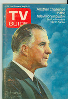 1970 TV Guide May 16 Spiro Agnew South East Texas edition Very Good to Excellent - No Mailing Label  [Scuffing along binding, contents fine]
