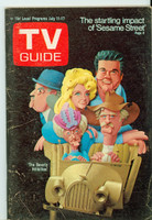1970 TV Guide July 11 Beverly Hillbillies Western Illinois edition Very Good to Excellent - No Mailing Label  [Scuffing along binding, contents fine]