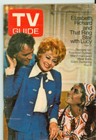 1970 TV Guide Sep 5 Lucille Ball with Elizabeth Taylor and Richard Burton Western Illinois edition Very Good to Excellent - No Mailing Label  [Lt surface wear on cover, contents fine]