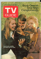 1970 TV Guide Nov 7 Cast of Nancy North Carolina edition Excellent - No Mailing Label  [Lt wear on cover, contents fine]