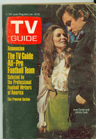 1971 TV Guide January 16 Johnny Cash Iowa edition Very Good to Excellent - No Mailing Label  [Heavy scuffing and creasing on cover, contents fine]