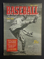 1942 Street and Smith BB Yearbook Howie Pollet Excellent to Mint [Light wear, contents fine]