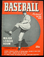 1946 Street and Smith BB Yearbook Dick Fowler Excellent