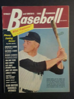 1962 Street and Smith BB Yearbook Roger Maris Excellent [Light wear on cover, contents fine]