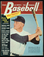 1962 Street and Smith BB Yearbook Roger Maris Excellent to Mint