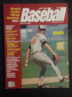 1980 Street and Smith BB Yearbook Mike Flanagan Near-Mint