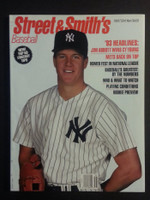 1993 Street and Smith BB Yearbook Jim Abbott Near-Mint to Mint