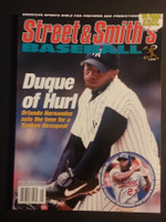2000 Street and Smith BB Yearbook Orlando Hernandez (El Duque) Near-Mint to Mint