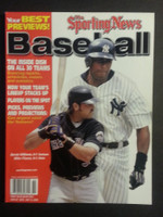 2002 Street and Smith BB Yearbook Mike Piazza - Bernie Williams Near-Mint to Mint