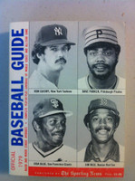 1979 TSN Official Baseball Guide (594 pg) - Cover: Guidry, Parker, Blue, Rice Excellent [Lt wear on cover, contents great]