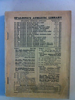 1929 Spalding Baseball Guide  Good [No Frt Cover, Bk cover attached; sturdy spine, contents fine]