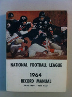 NFL 1964 Record Manual (Chicago Bears on cover) Excellent [Lt wear on cover, contents great]