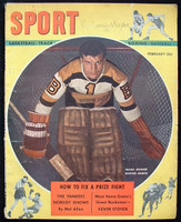 1948 Sport Magazine Frank Brimsek Very Good to Excellent
